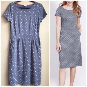 Boden Polka Dot Phoebe Jersey Dress